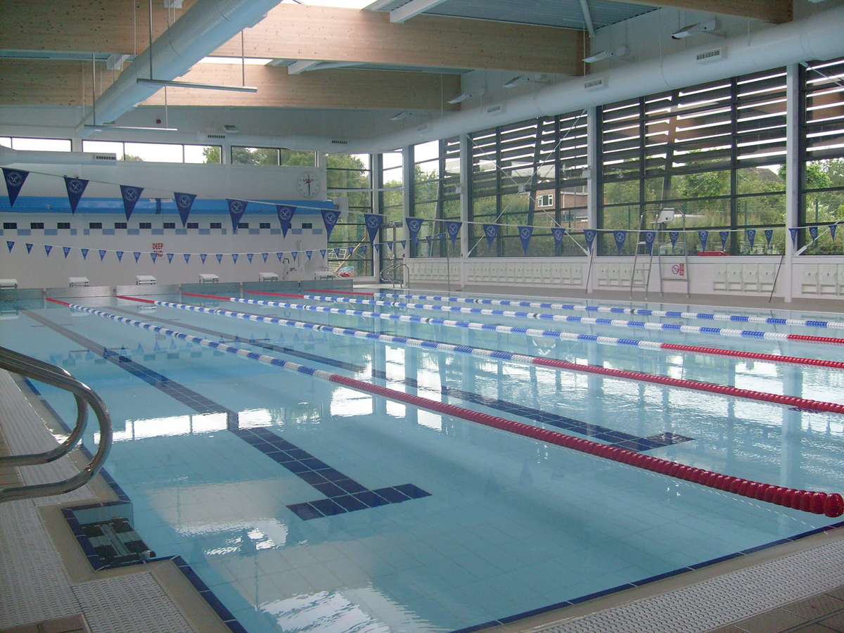 Swimming pool at Etwall Leisure Centre
