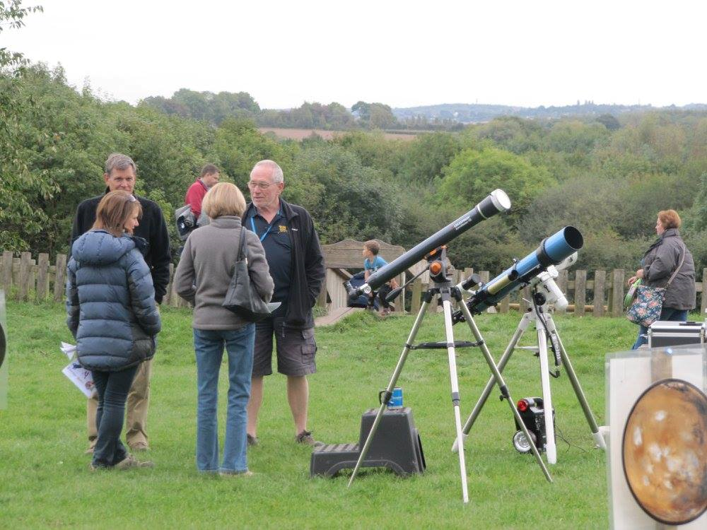 Science Discovery Day telescopes