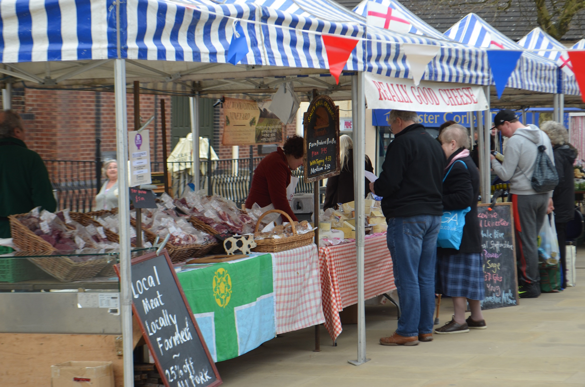 Farmers' Market April 2013