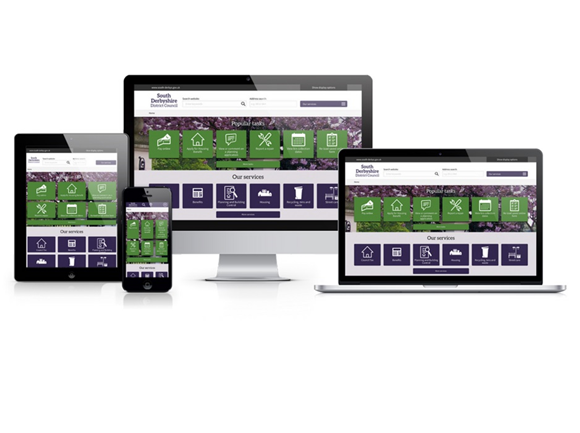 SDDC new website responsive design