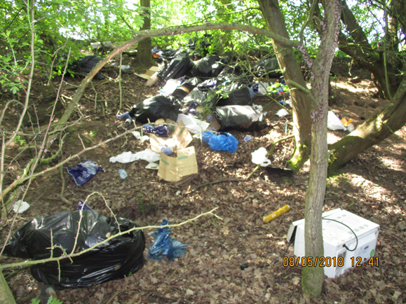 Sarry fly-tipping