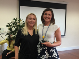 RISE awards - Lauren Taylor