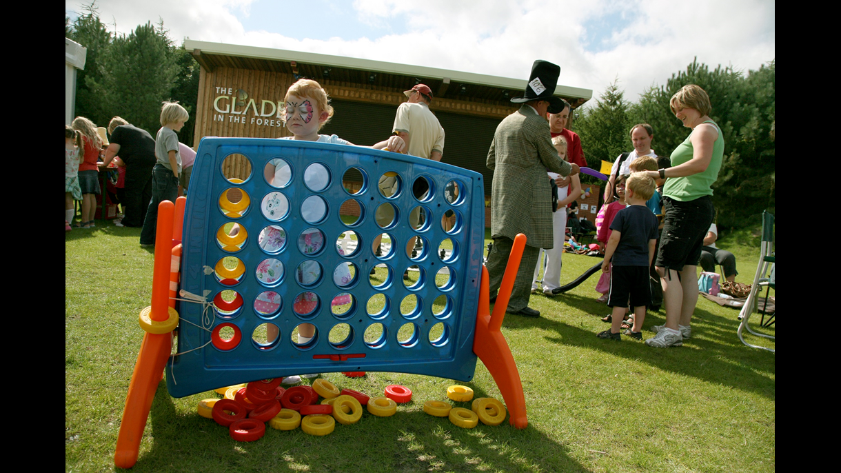Games at The Glade