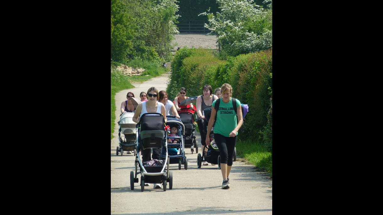Rosliston pushchair walk